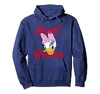 Disney Daisy Heartbreaker T Shirt Hoodie Navy