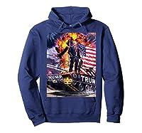 Donald Trump Gold Plated Shirt T-shirt Hoodie Navy