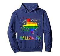 Dallas Texas Lgbt Pride Shirt Hoodie Navy