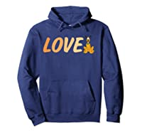 Disney Love Pluto T Shirt Hoodie Navy