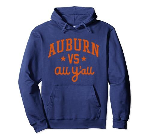 Auburn Vs. All Y'all Alabama Al Vintage Pullover Hoodie