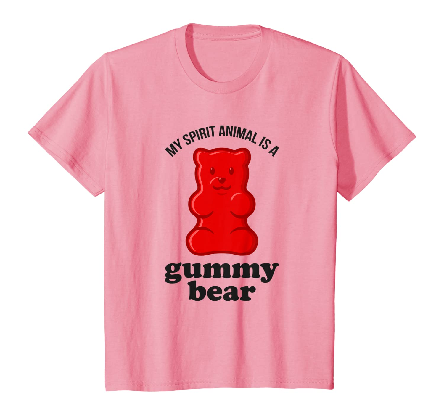 My Spirit Animal Is A Gummy Bear Funny T-Shirt Youth