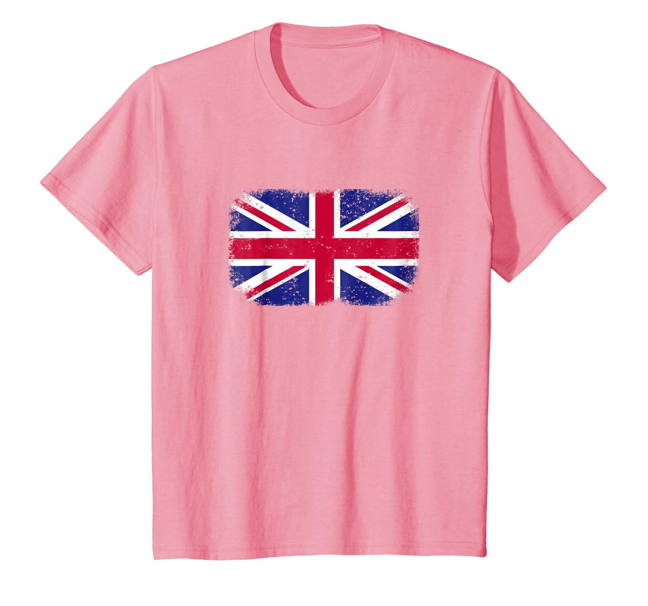 c43243970 Amazon.com: British England T-shirt Flag Distressed Graphic Expat London:  Clothing