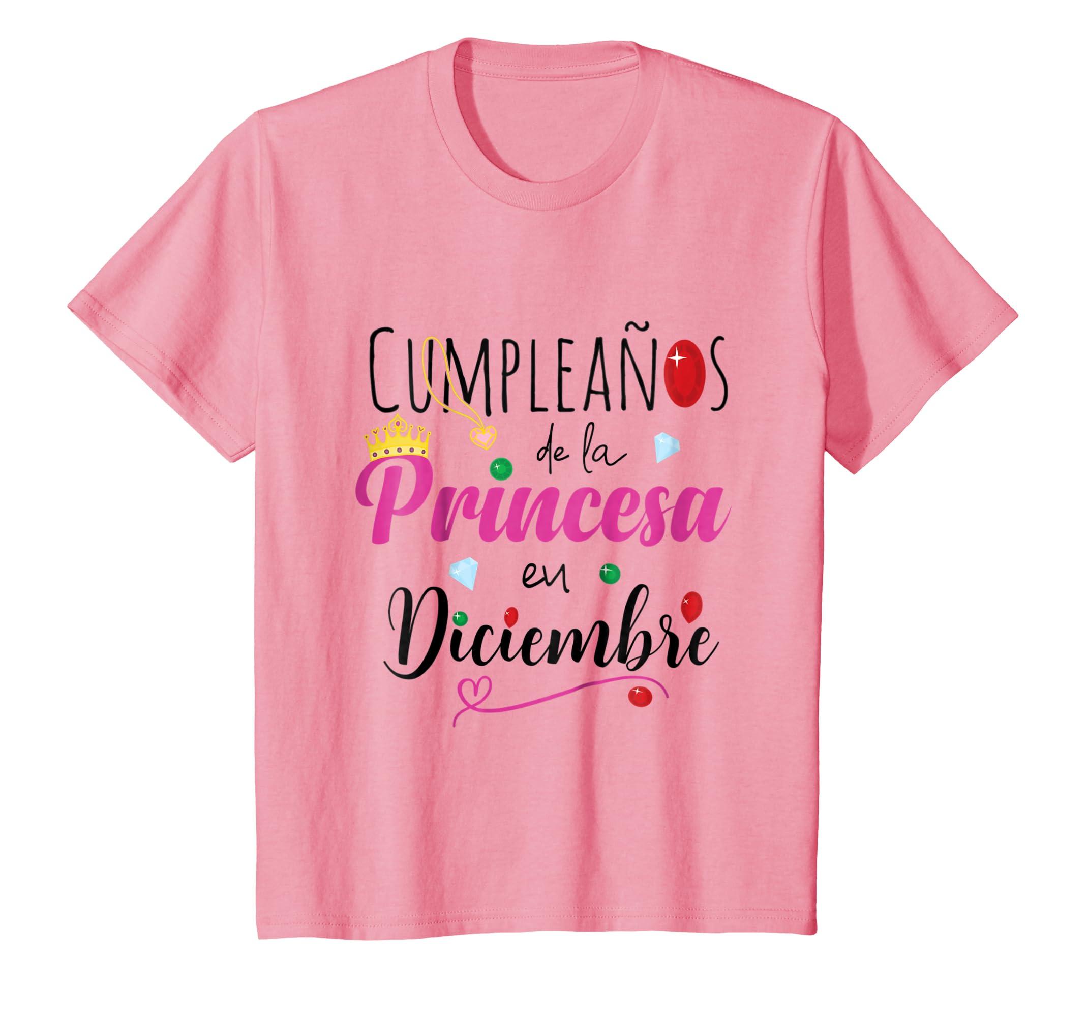 Amazon.com: Cumpleanos de la Princesa Diciembre Camiseta ...