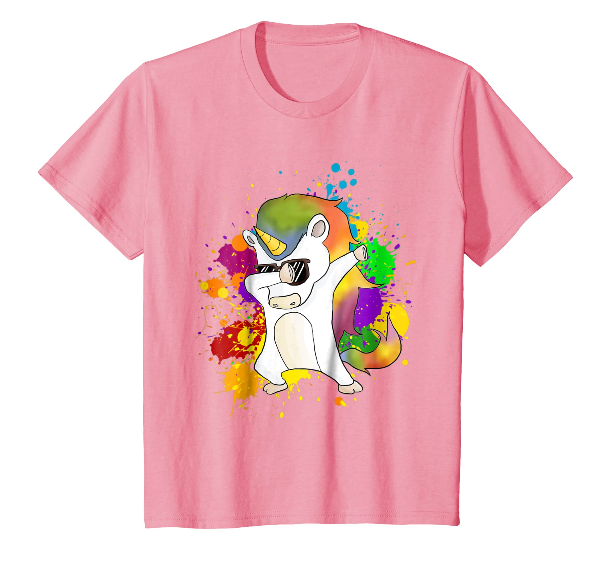 ce786da22ed Amazon.com  Kids Dabbing Unicorn Shirt and Unicorn Dab T-Shirt  Clothing