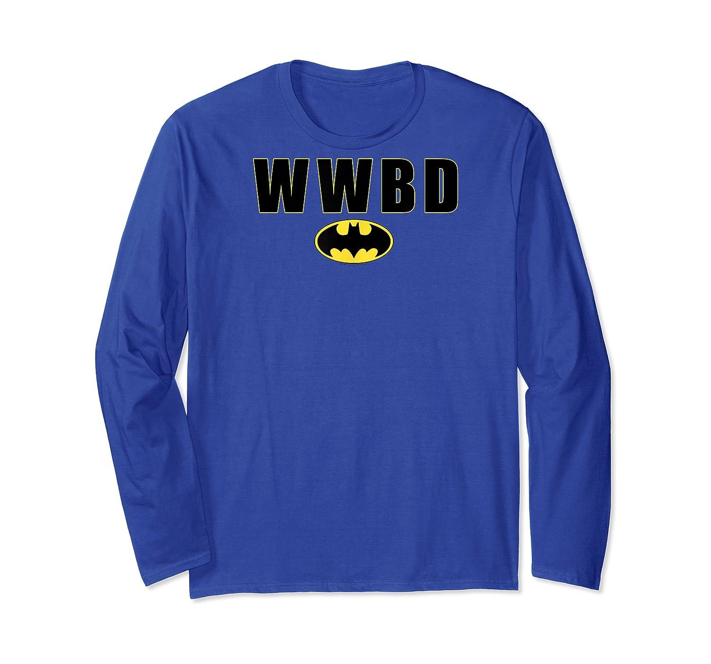 Batman Wwbd Logo T-shirt Long Sleeve T-shirt