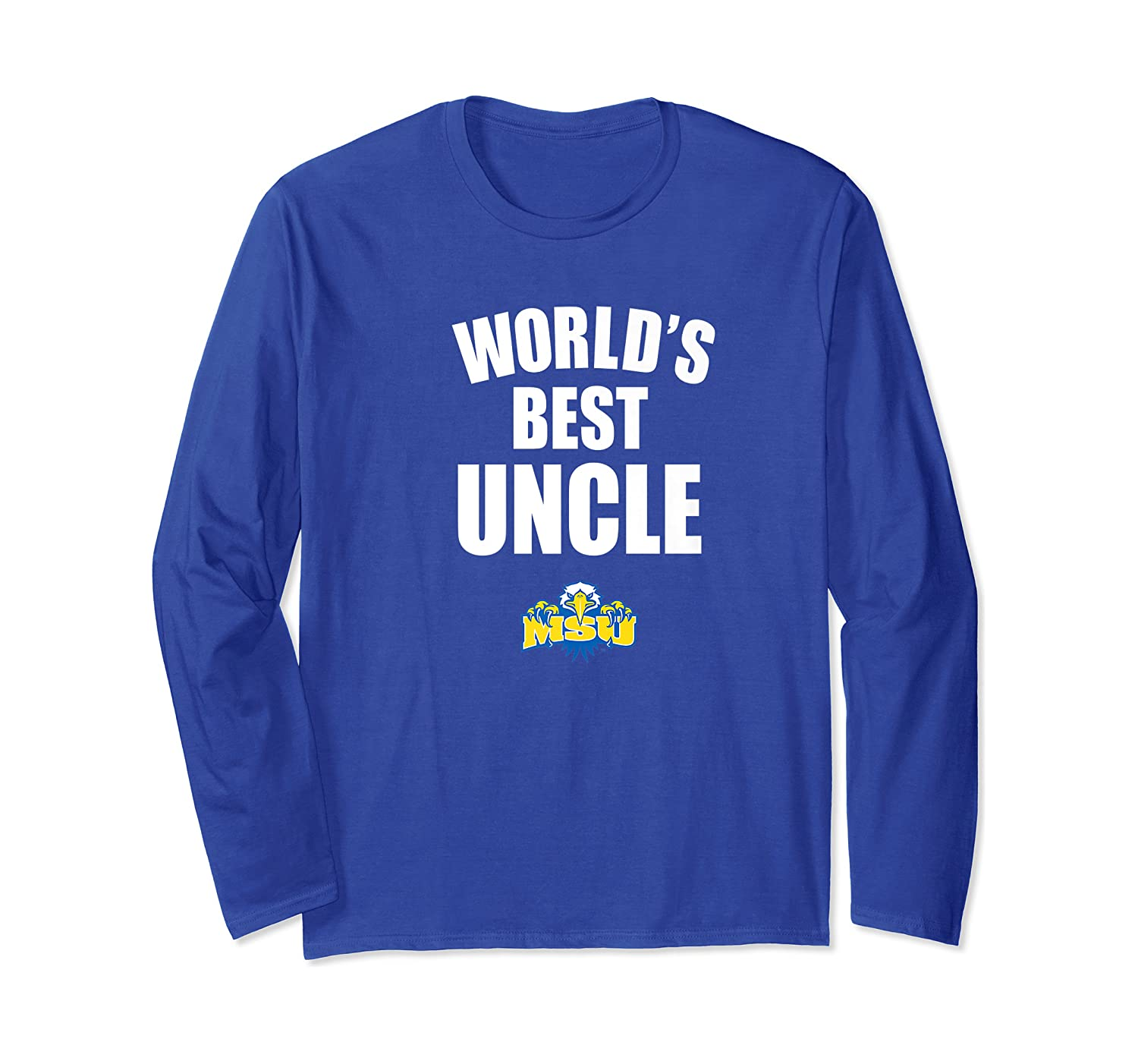 Morehead State Eagles World's Best Uncle - Bold Premium T-shirt Long Sleeve T-shirt