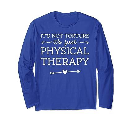 PT Camisa de fisioterapeuta Regalo de fisioterapia, no Manga ...