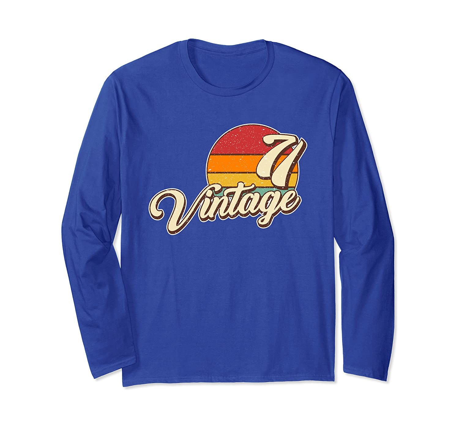 1971 Retro Sunset Vintage 71 Long Sleeve T-Shirt