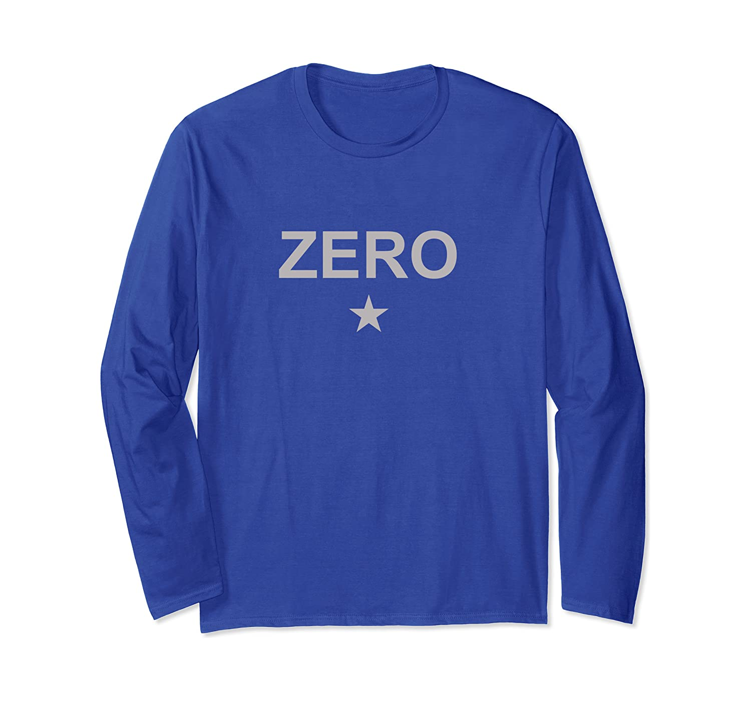 Zero Star Mens Pumkin Smashing Vintage Retro Gifts Long Sleeve T-Shirt