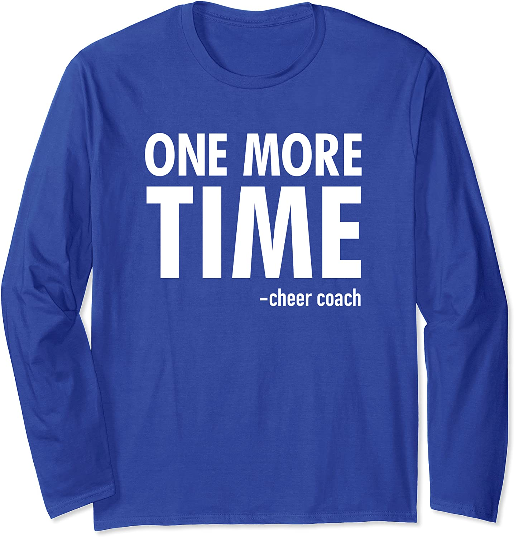 Cheer Coach Long Sleeve Cheerleading Gift T-Shirt-TH