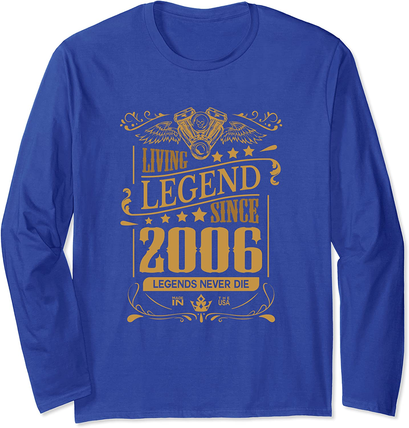 15th Birthday Outfit Boys Girls 15 Year Old His and Her Gift Long Sleeve T-Shirt-TH