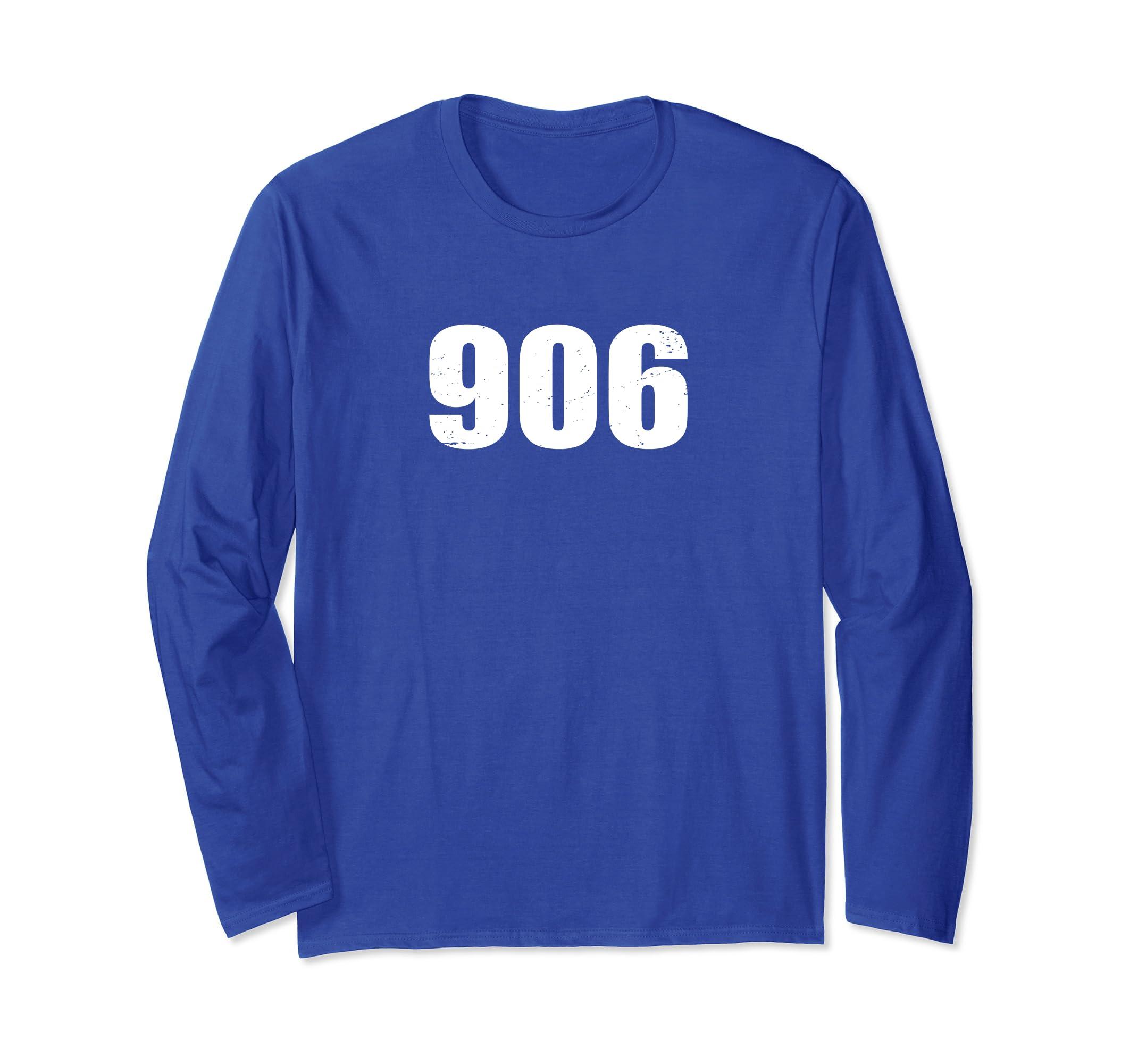 906 Upper Peninsula Michigan Yooper T Shirt-azvn