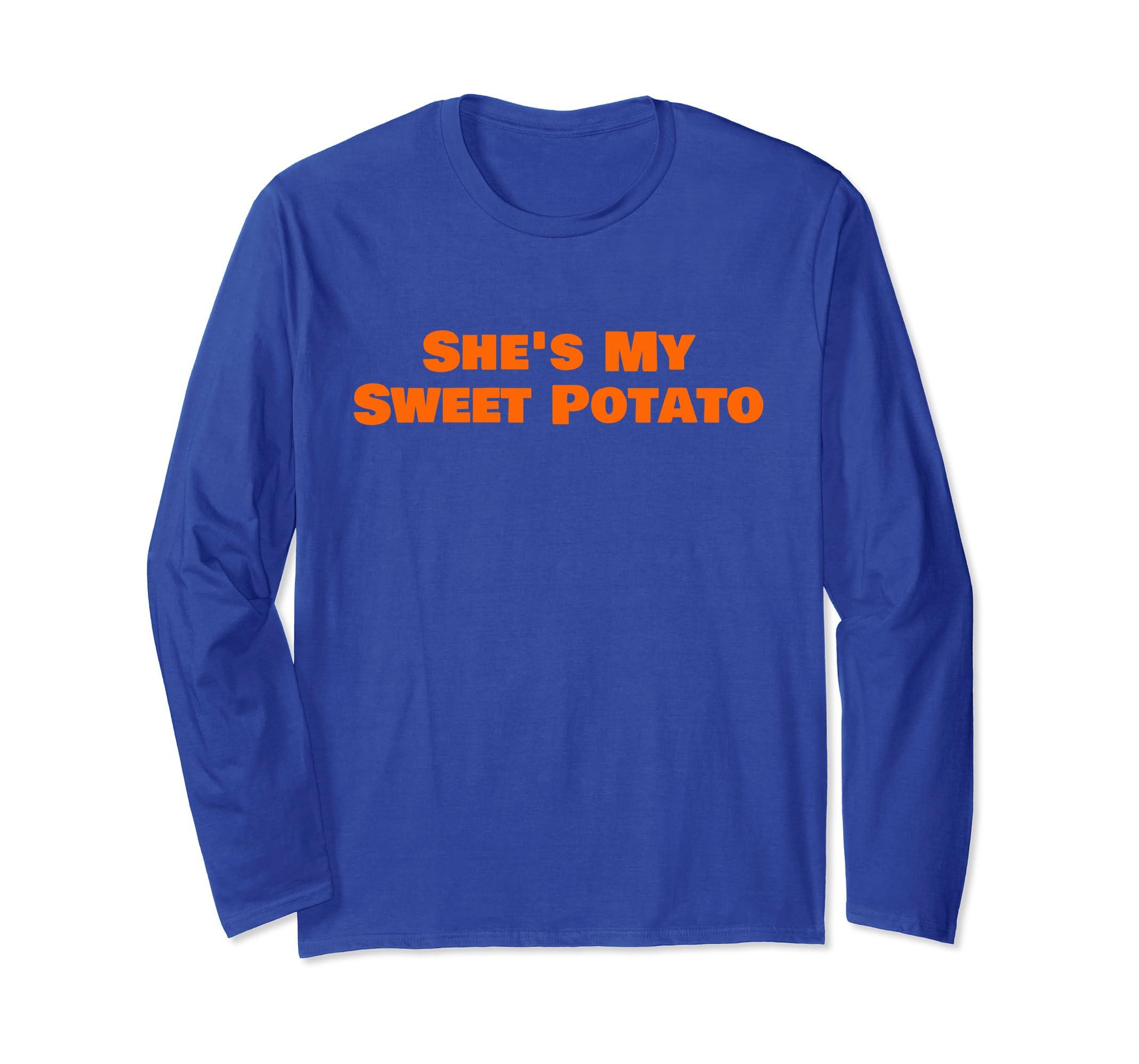 She's My Sweet Potato I Yam T shirt Matching Couple Shirts-4LVS