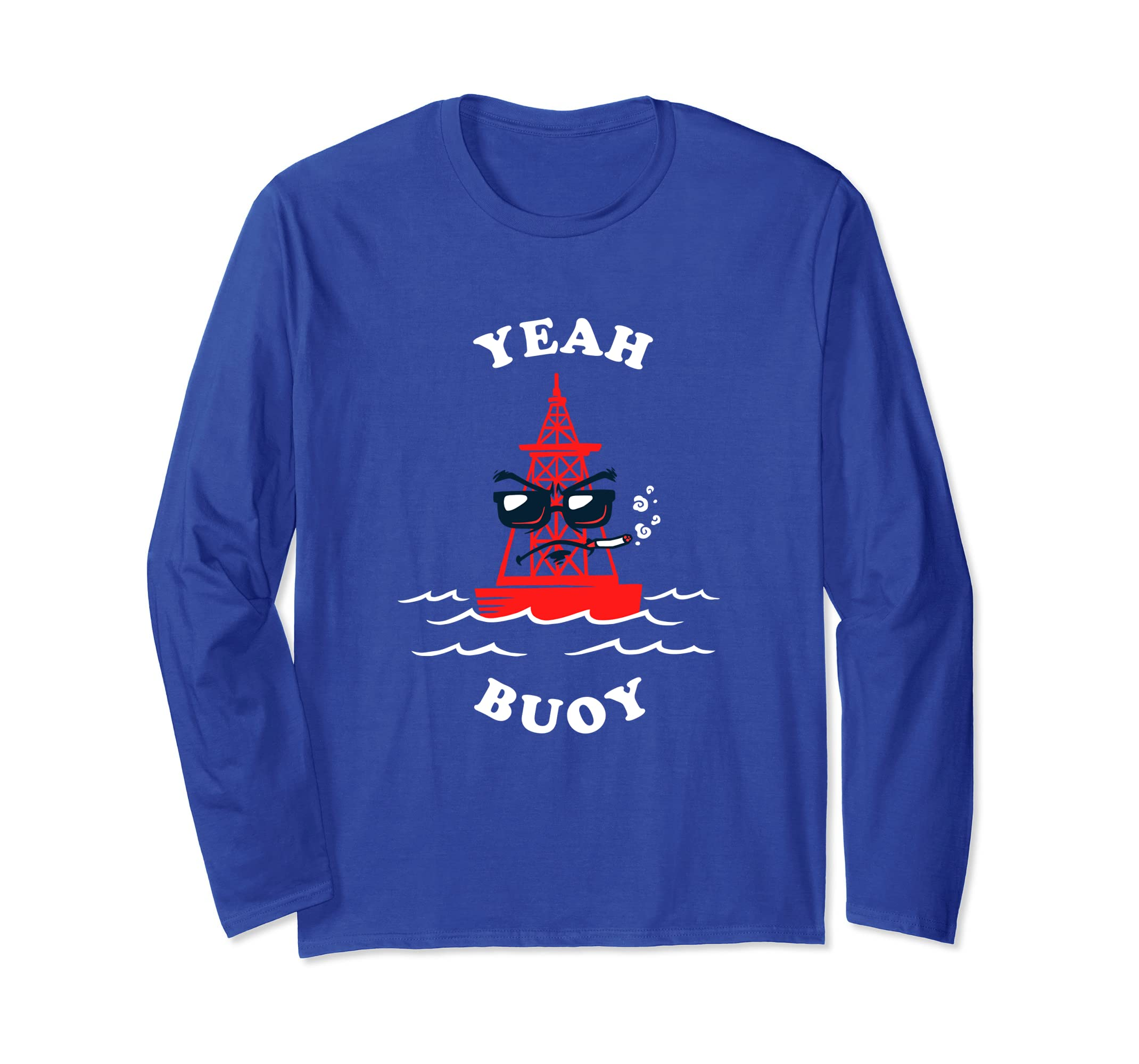 e04a31d5 Amazon.com: Yeah Buoy Long Sleeve Shirt: Clothing