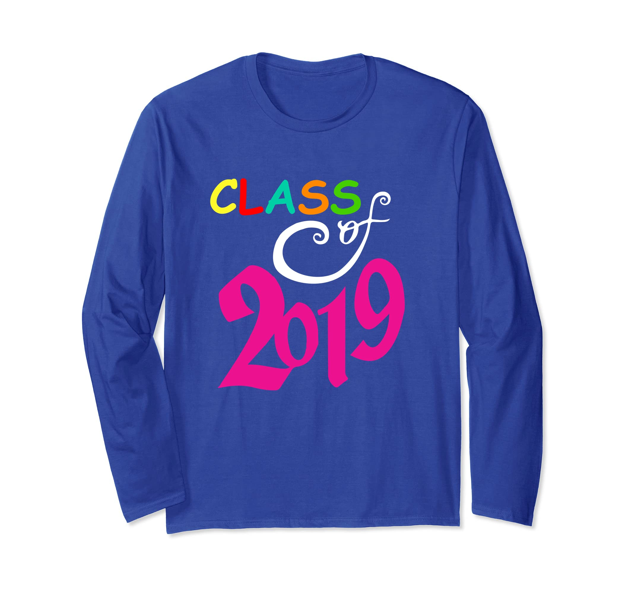 Class Of 2019 Gift - Class of 2019 Senior Long Sleeve TShirt-anz
