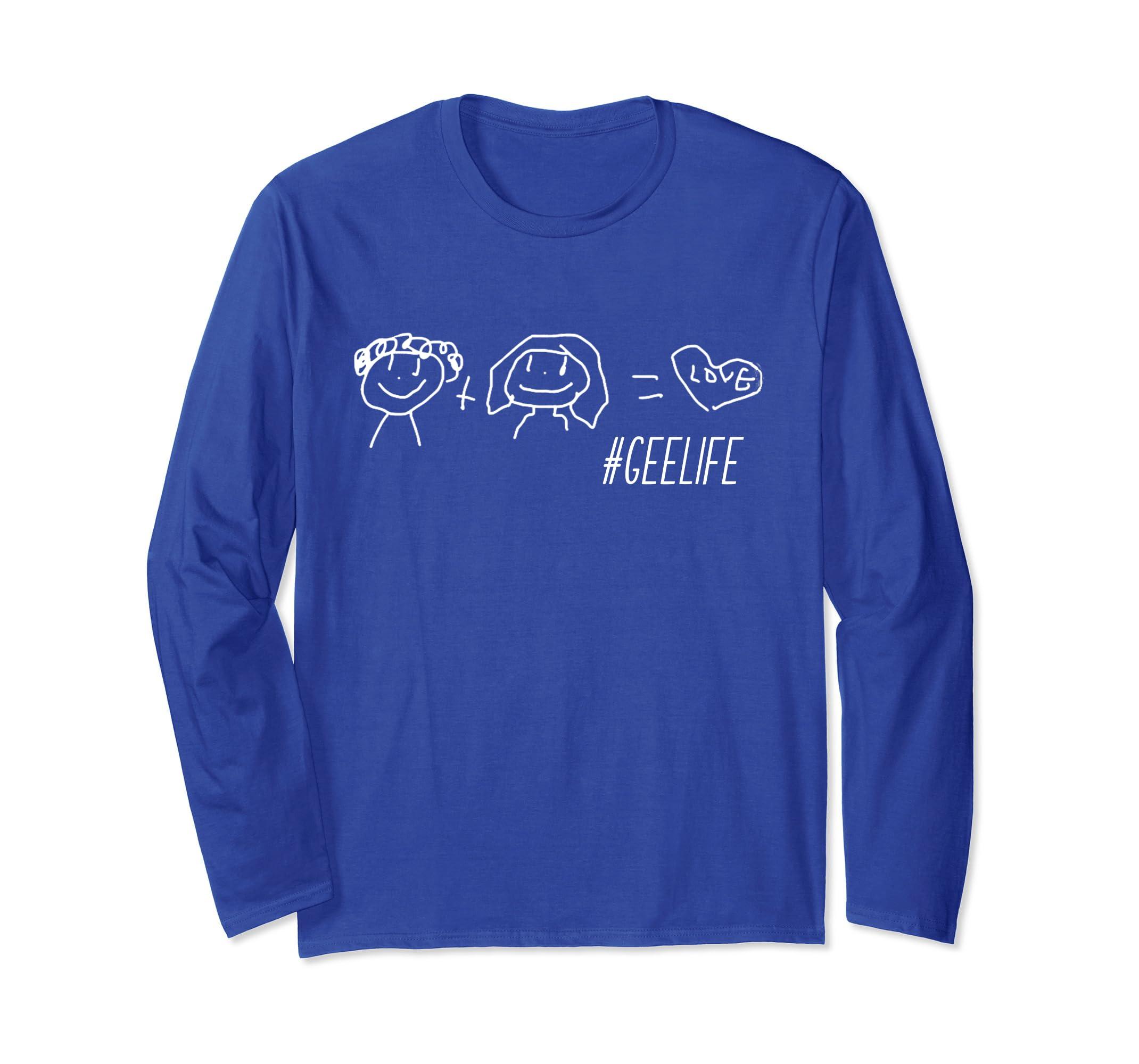 #GeeLife Long sleeve tshirt-ln