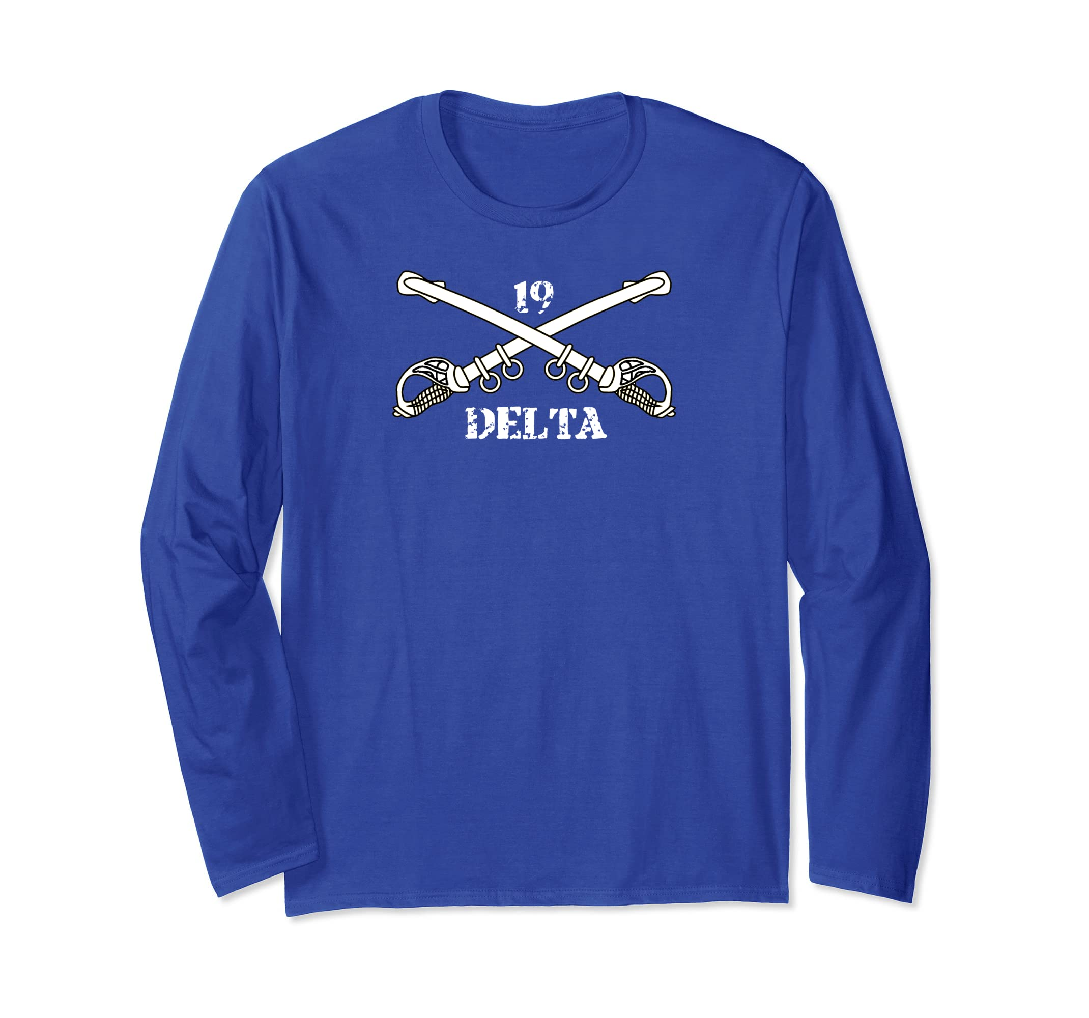 19 delta cavalry scout long sleeve shirt-azvn