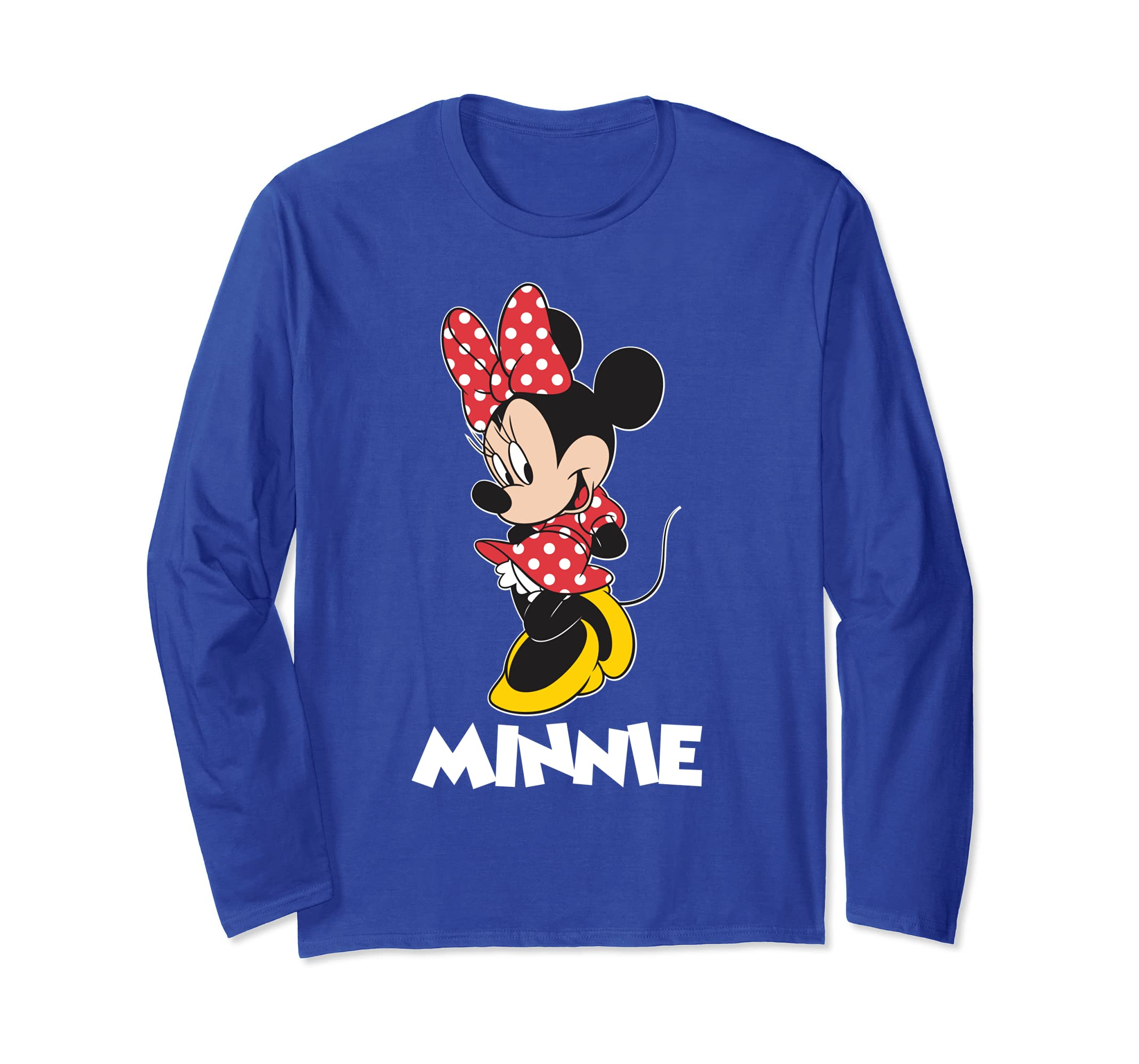 Minnie Mouse posing Long Sleeve-Bawle