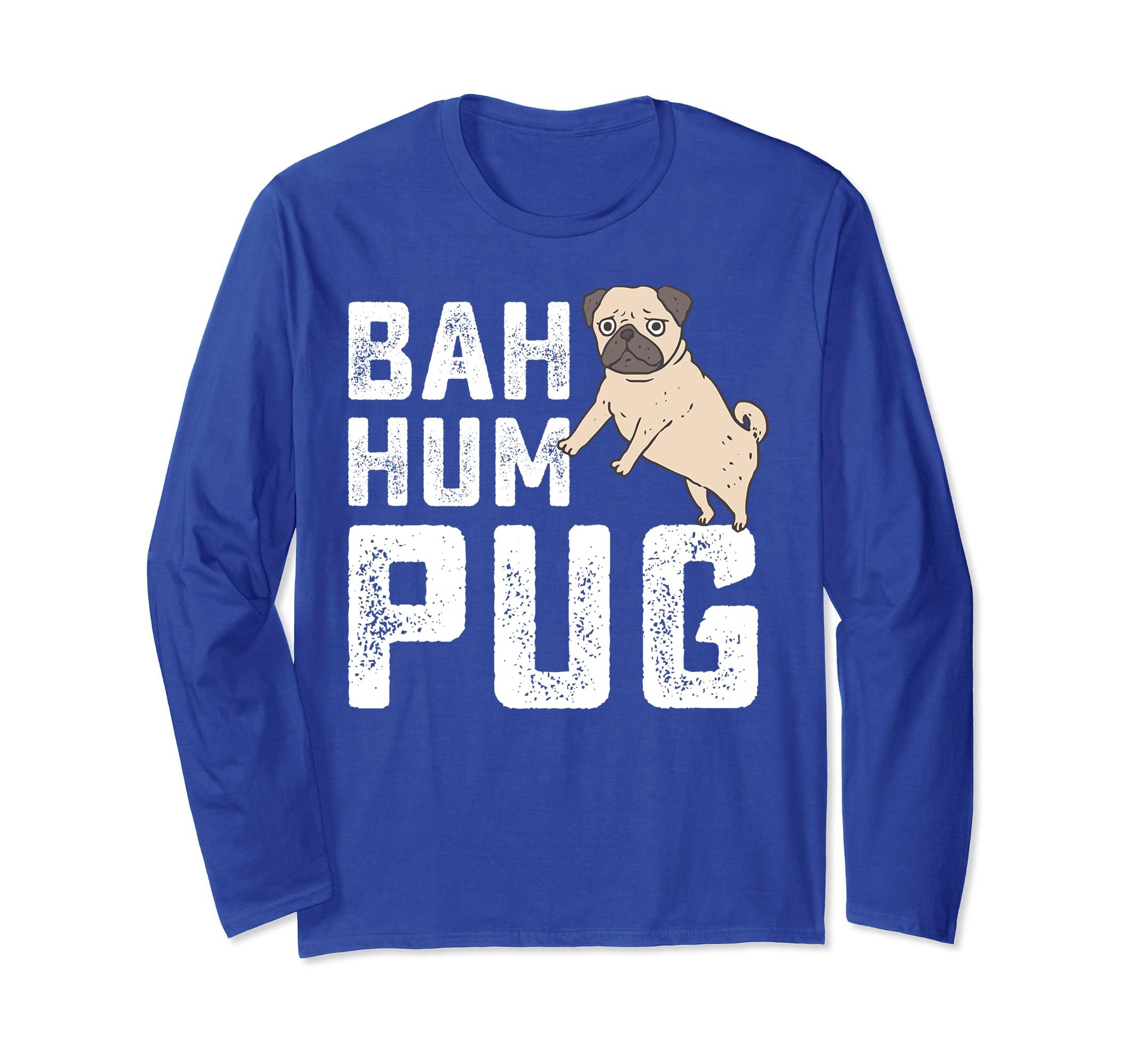 bah hum pug sweater pug lover christmas gift-SFL