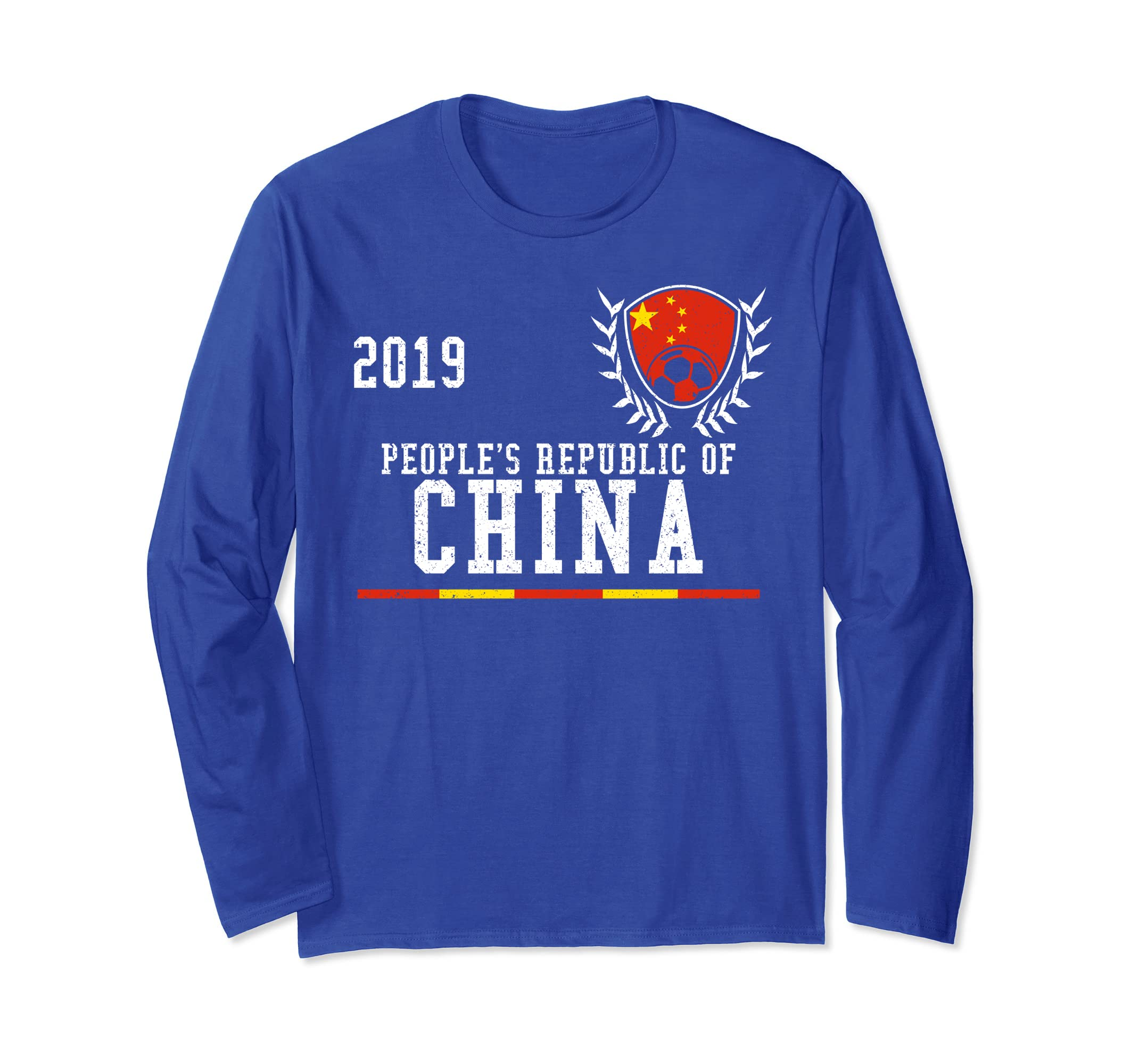 outlet store 2c742 199d1 Amazon.com: China Football Jersey 2019 Chinese Soccer Long ...