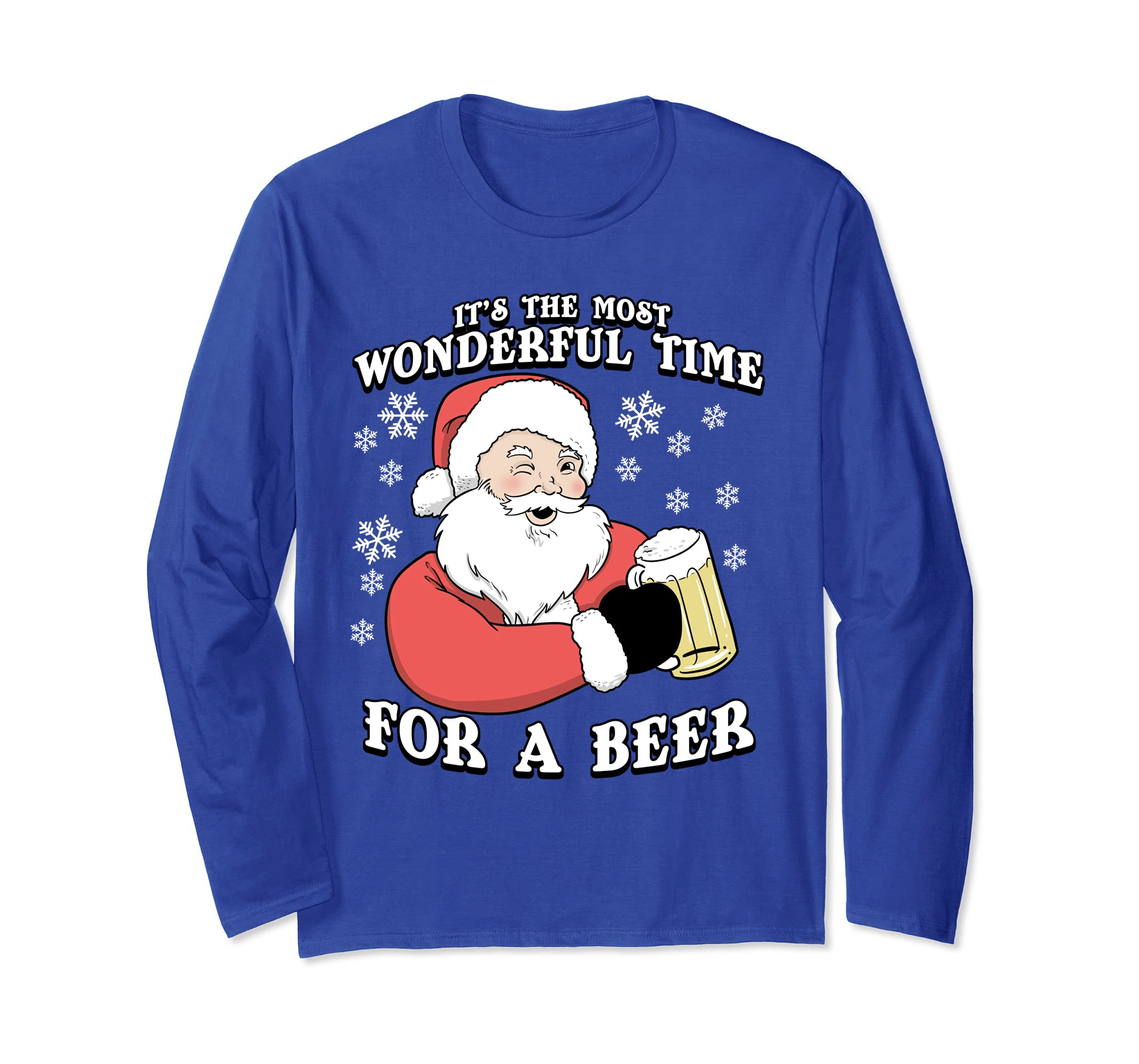 It's The Most Wonderful Time For A Beer Long Sleeve T Shirt-SFL