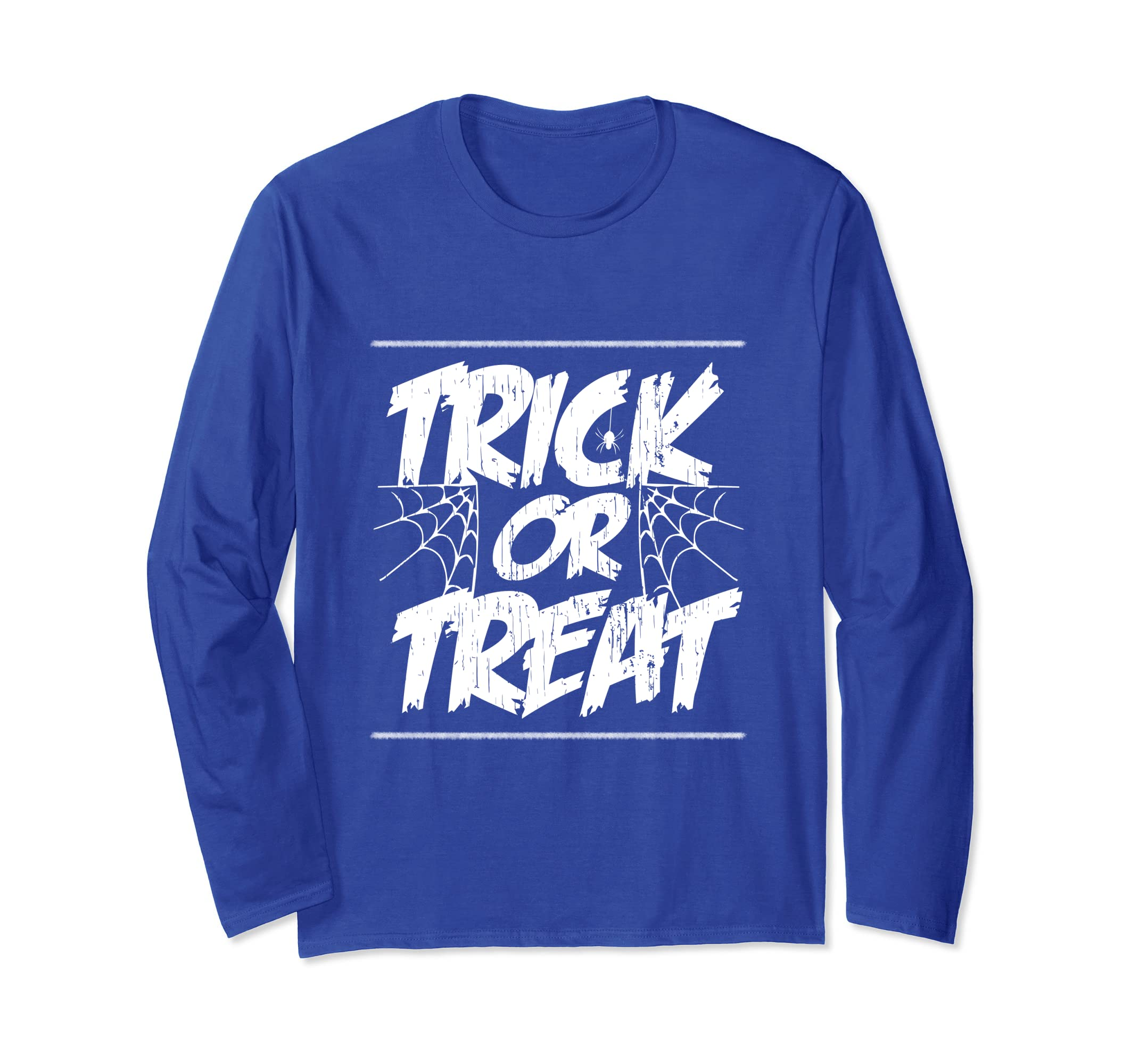 Trick or Treat Halloween Longsleeve T-Shirt-SFL