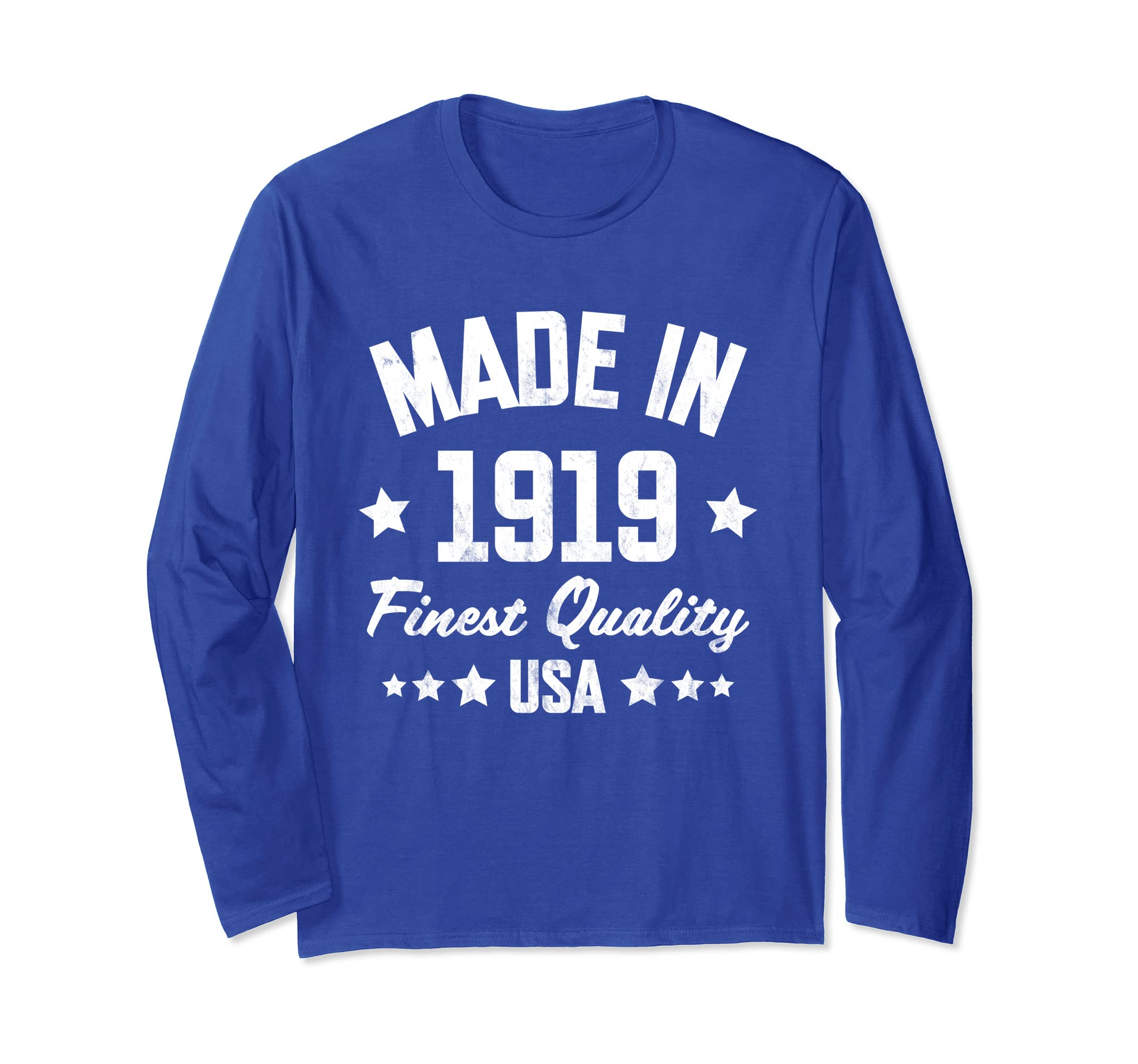 99th Birthday Long Sleeve : Made in 1919 Long Sleeve-Awarplus