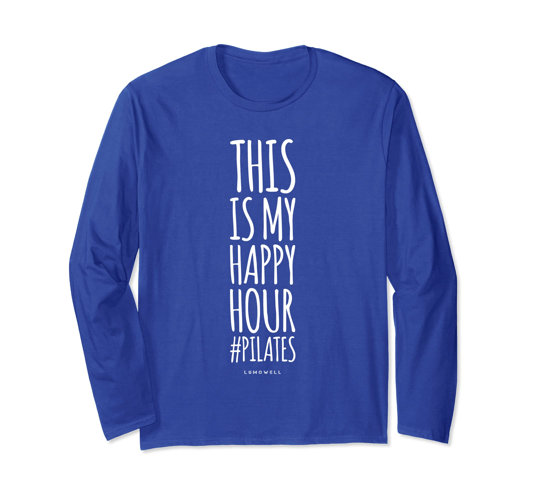 64d42986a25 Amazon.com  Funny Pilates T-Shirts  This Is My Happy Hour Shirt  Clothing
