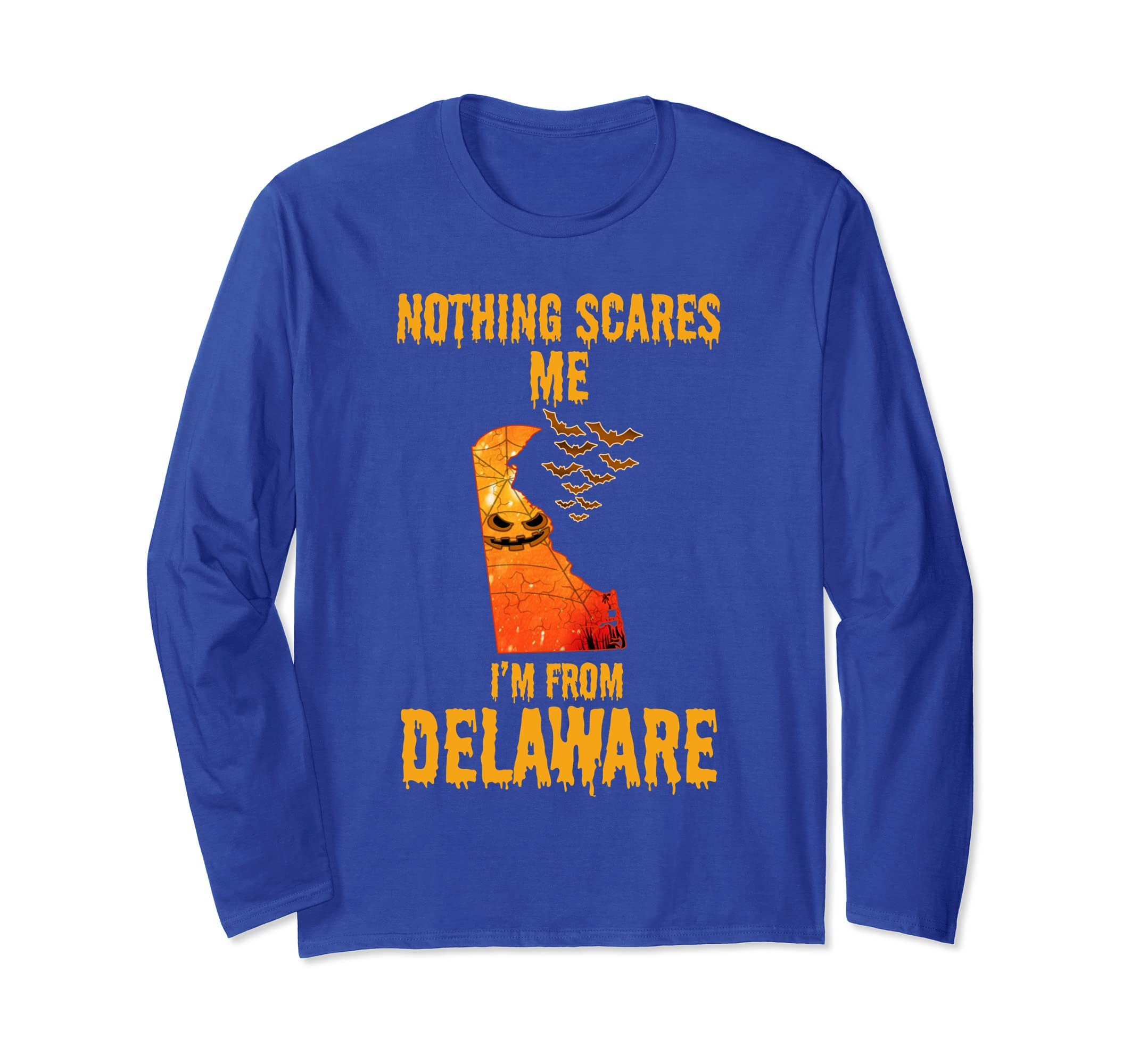 Nothing Scares Me I'm From Delaware Shirt Halloween-ln