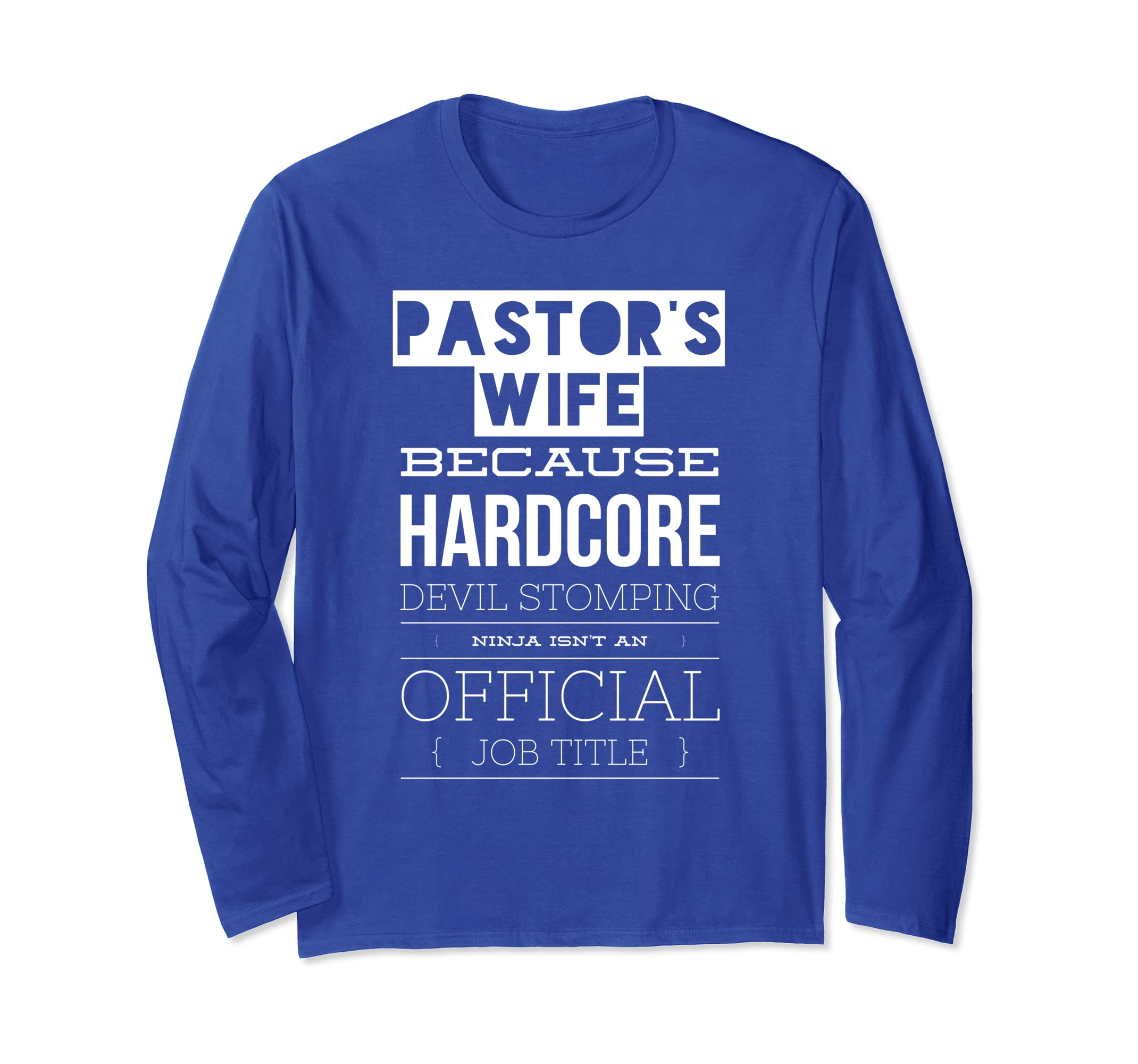 Amazon.com: Pastor Wife Shirt Devil Stomping Ninja Pastoral ...