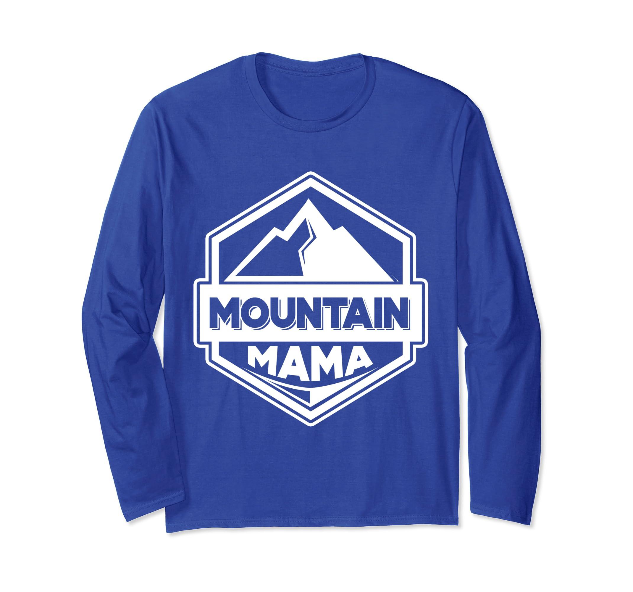 'Mountain Mama' Awesome Mountain Gift Shirt-azvn