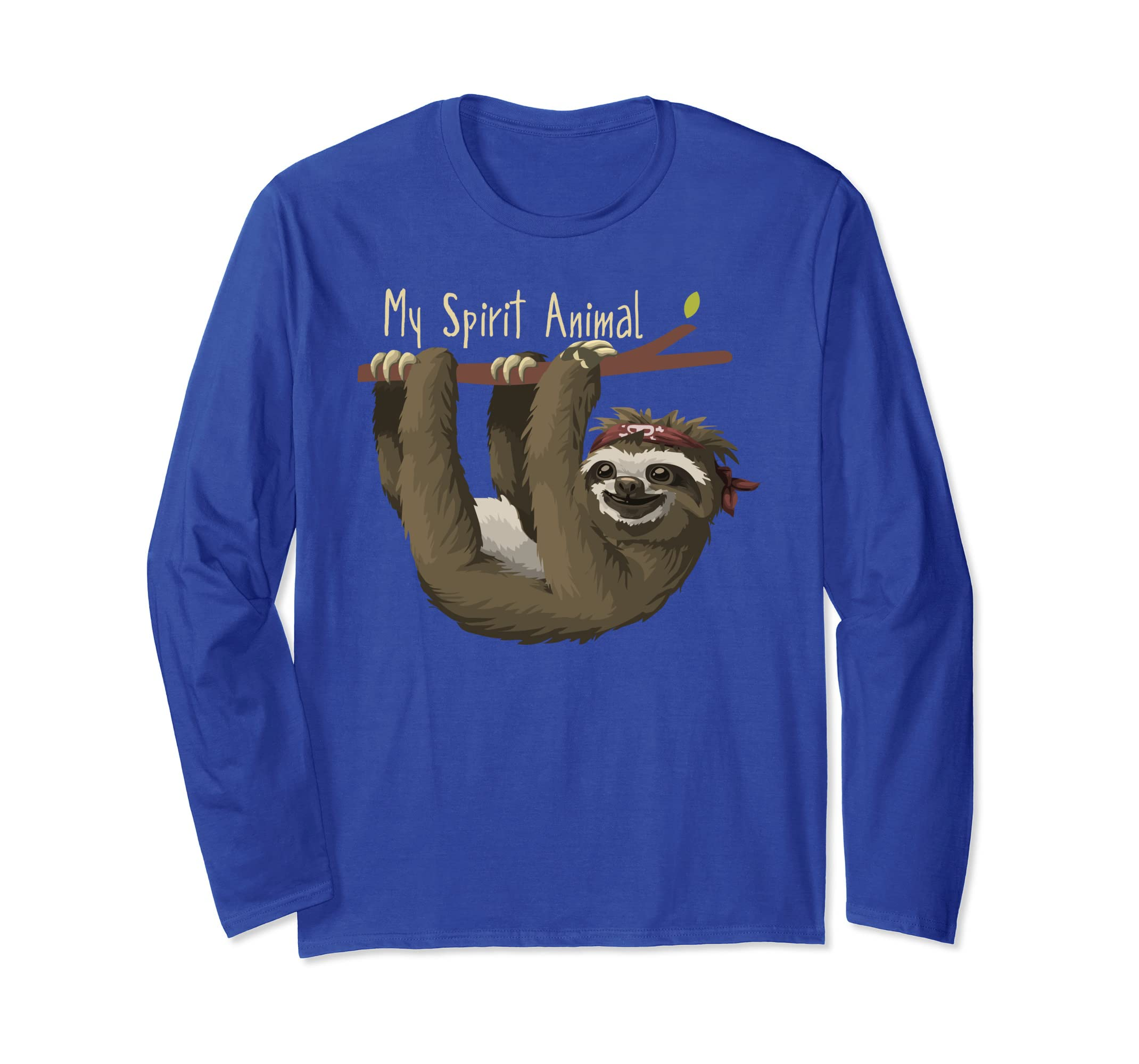 Sloth My Spirit Animal - Cute Sloth Shirt-azvn