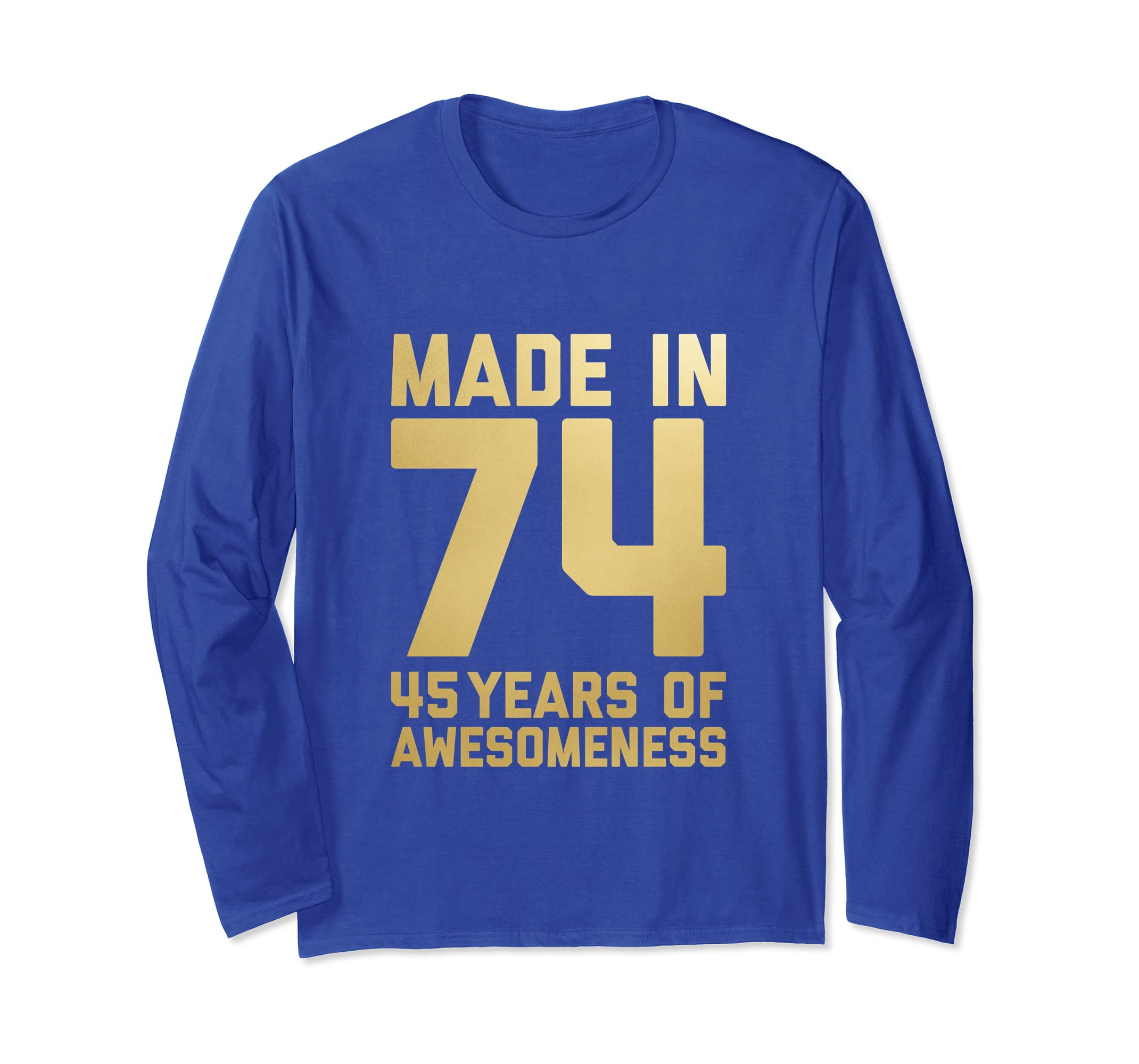 Amazon 45th Birthday Long Sleeve Women Gifts 45 Year Old Mom Auntie Clothing