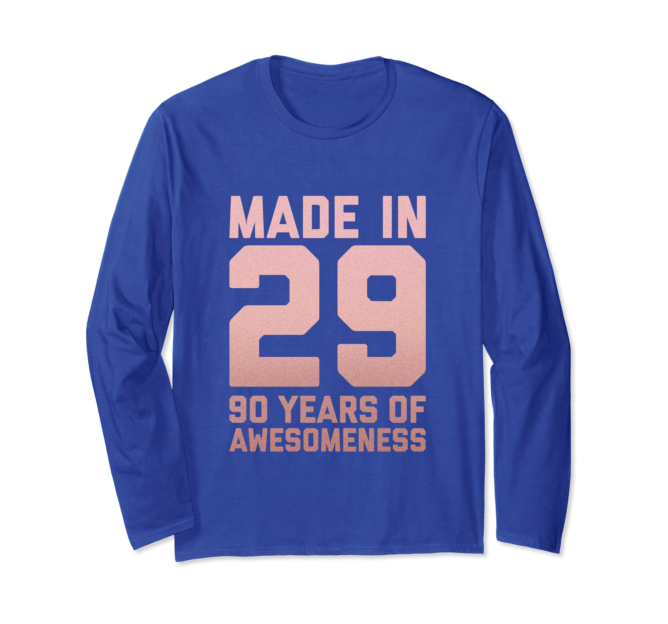 Amazon 90th Birthday Long Sleeve For Women Gift 90 Year Old Grandma Clothing