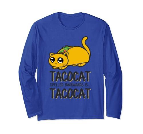 'Tacocat Spelled Backwards Is...' Cool Cats Taco Shirt