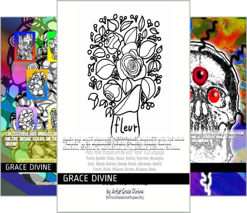 GRACE DIVINE DRAWINGS (25 Book Series)