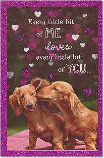 American Greetings Romantic Birthday Card (Dachshunds)