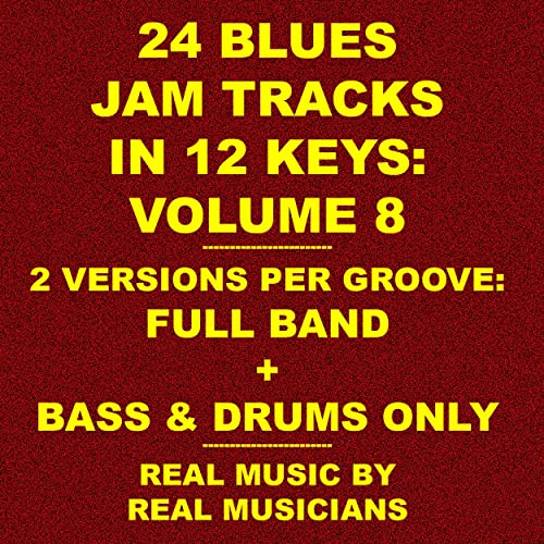Slow Blues in Db_68 Bpm_bass & Drum Jam Track by Fred Pfiel