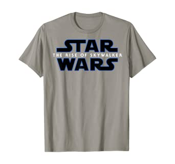 Amazon Com Star Wars The Rise Of Skywalker Movie Logo C3 T Shirt Clothing
