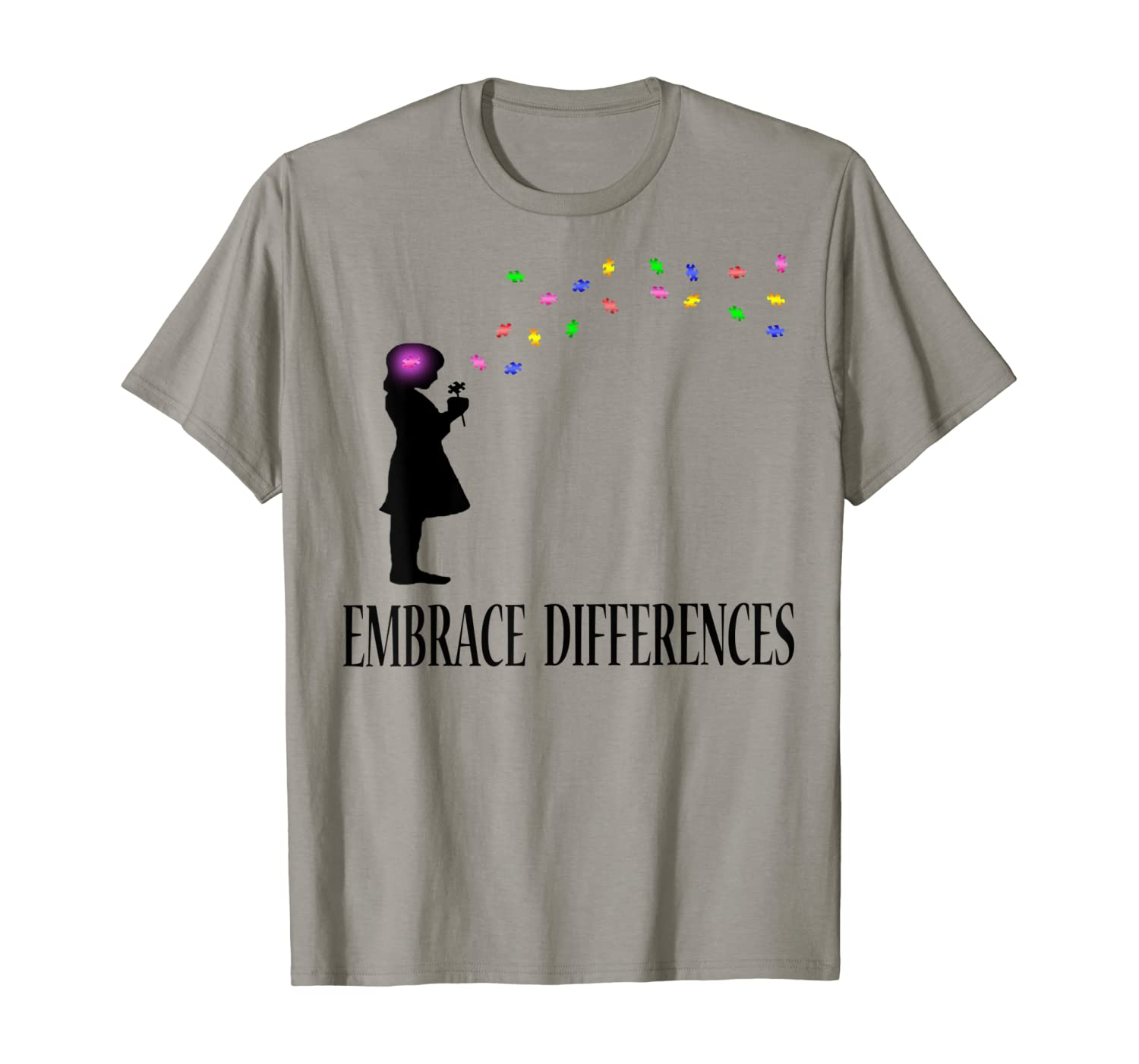 Embrace Differences Shirt Autism Awareness Shirts