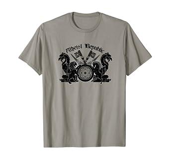 Atheist Republic Symbol Key Emblem T-Shirt