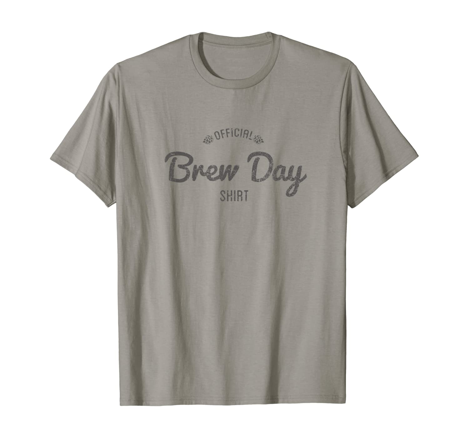 Official Brew Day Shirt Craft Beer Home Brewing Gift T-Shirt T-Shirt