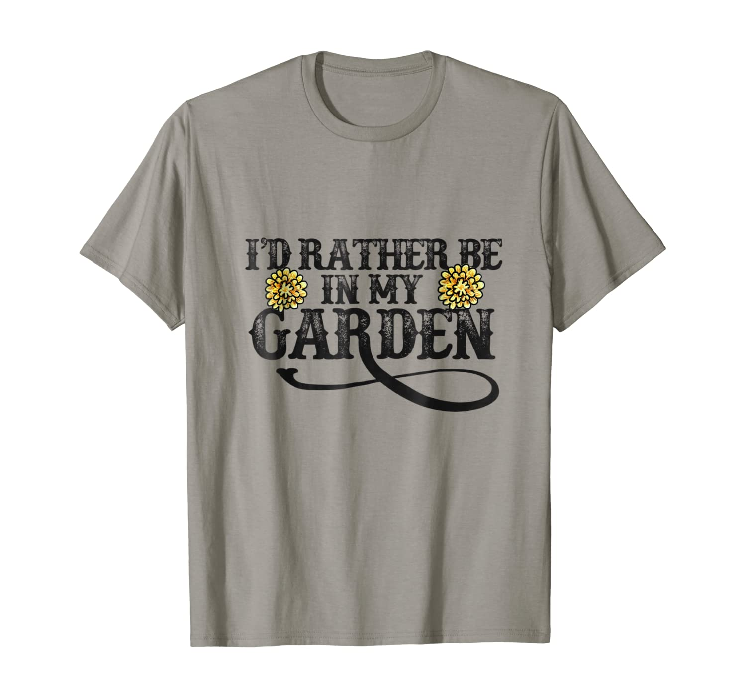I'd rather be in my garden shirt gardening tee shirts