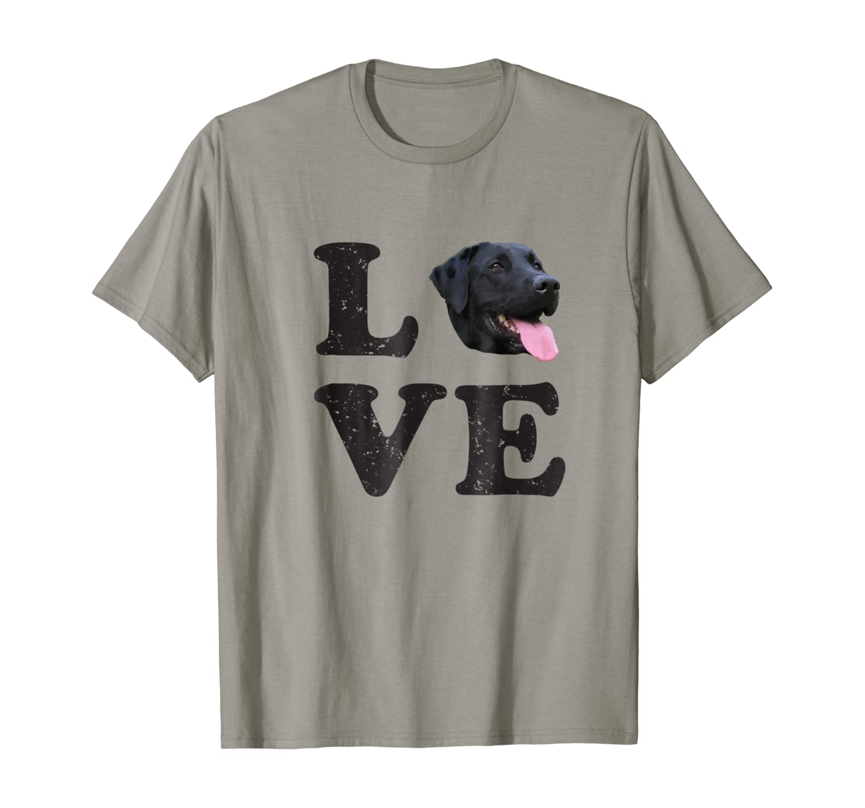 I Love My Black Lab T-Shirt   Labrador Retriever Dog Tee