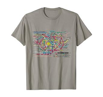 subway map t shirt Amazon Com Tokyo Subway Map T Shirt Map Of The Tokyo Subway