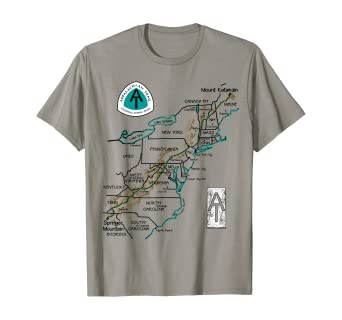 Thurmont Maryland MD T-Shirt MAP