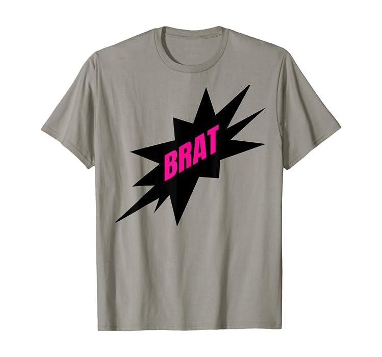 Amazon Com Bdsm Brat Naughty Daddy Bratting Submissive Kink Tshirt Clothing
