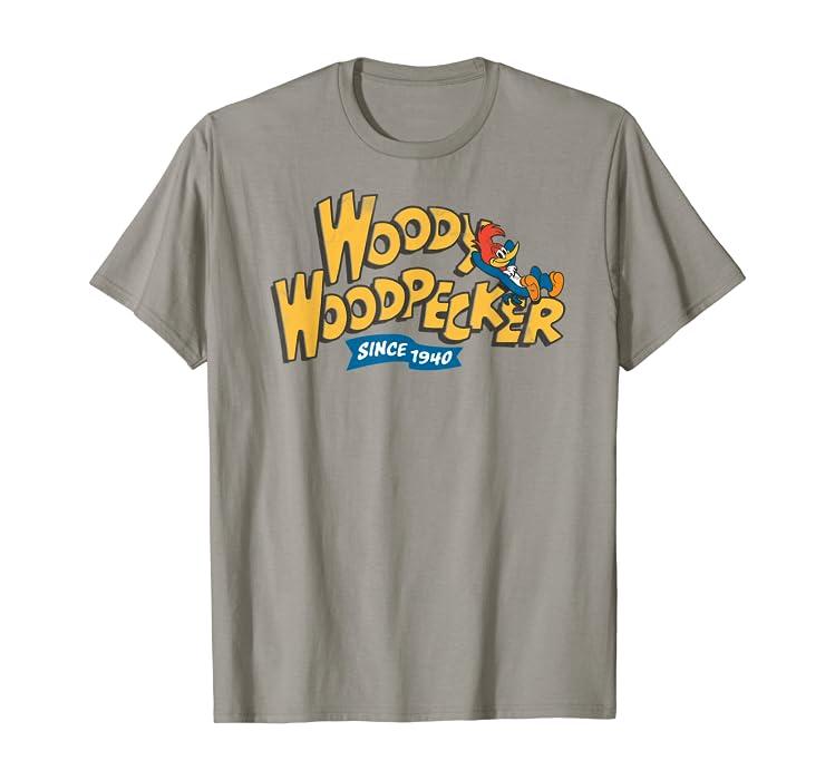 Amazon com: Woody Woodpecker Since 1940 Classic t-shirt