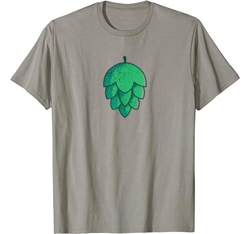 Green Hop Flower Craft Beer Hops Drinkers Meme T Shirt